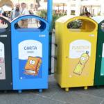 Bidoni per rifiuti urbani